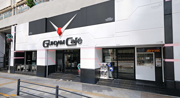 ,GUNDAM,cafe,カフェ