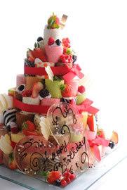 イリナのロールケーキのタワーの写真,自由が丘,スイーツフォレスト,子ども