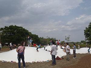 小金井公園のふわふわドーム,小金井公園,遊具,施設