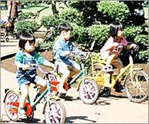 小金井公園のサイクリング場,小金井公園,遊具,施設