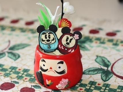 ダルマミッキー&ミニーのキャラチョコ,年末,年始,ディズニー
