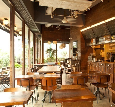 店内の様子,渋谷,オーガニック,レストラン