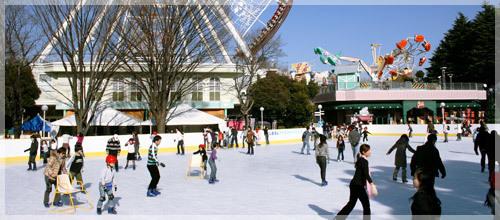 としまえんスケートリンク,東京,スケート,リンク