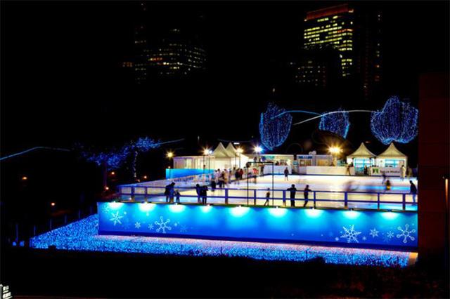 アイスリンクin東京ミッドタウン画像,東京,スケート,リンク