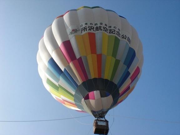 熱気球,所沢,航空,公園