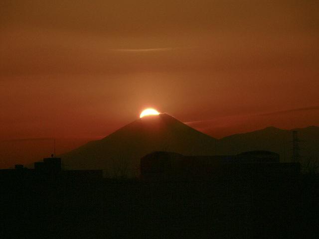 篠原八幡大神ダイヤモンド富士,お宮参り,神社,神奈川