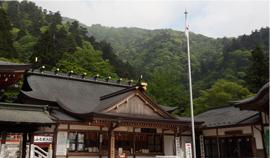 大山阿夫利神社拝殿,お宮参り,神社,神奈川