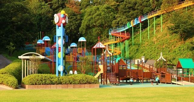 長門市総合公園,山口県,公園,遊具