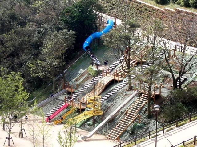 大平山山頂公園,山口県,公園,遊具