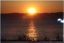 県立観音崎公園,神奈川,初日の出,海岸