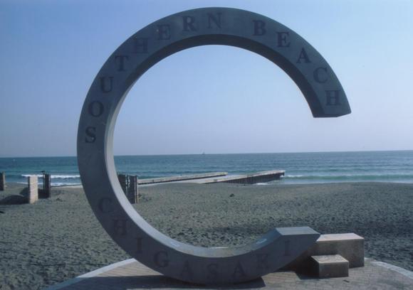 茅ヶ崎サザンビーチ,神奈川,初日の出,海岸