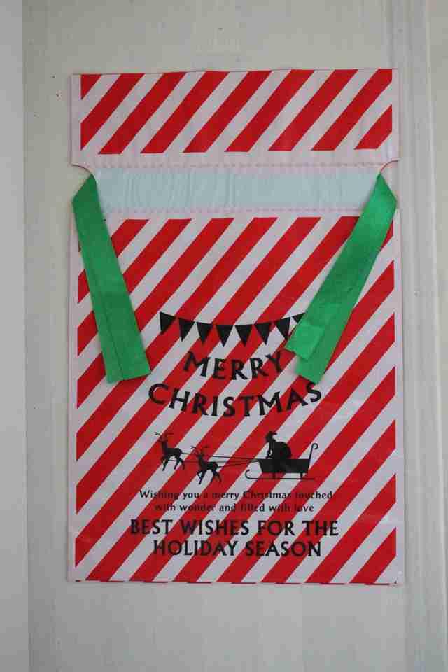 ダイソーのラッピング,ダイソー,クリスマス,雑貨
