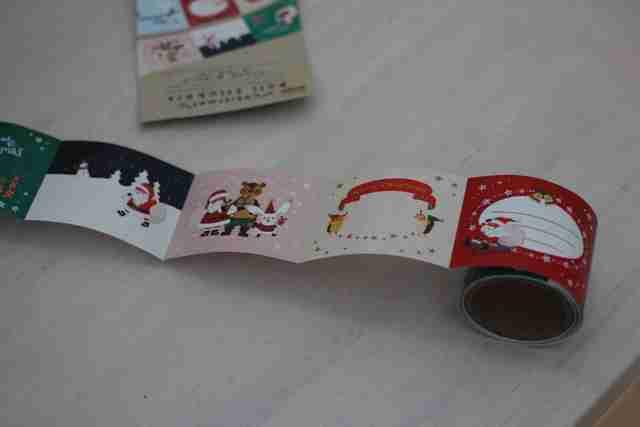 ダイソーのクリスマスカード,ダイソー,クリスマス,雑貨