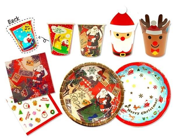 ダイソーのテーブルウェア,ダイソー,クリスマス,雑貨