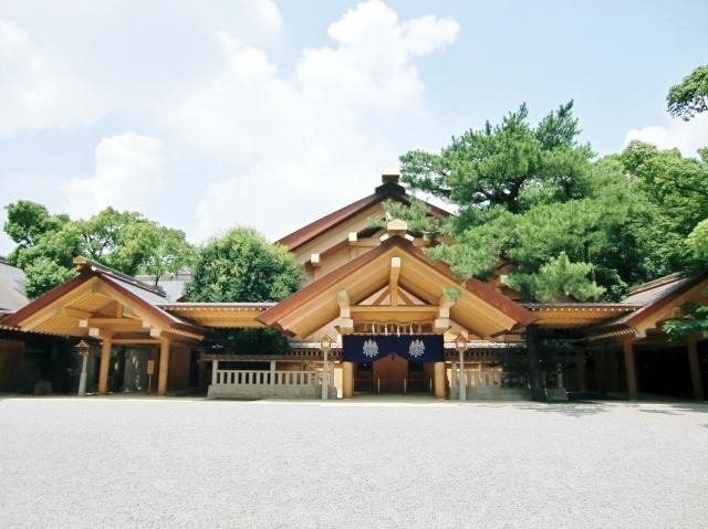 熱田神宮,名古屋,初詣,お参り