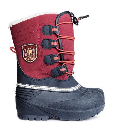H&Mのキッズブーツ,冬,ブーツ,おすすめ