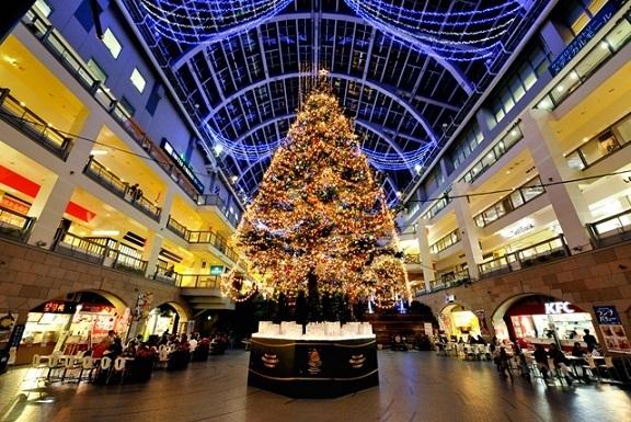 サッポロファクトリー ,クリスマス,イルミネーション,北海道