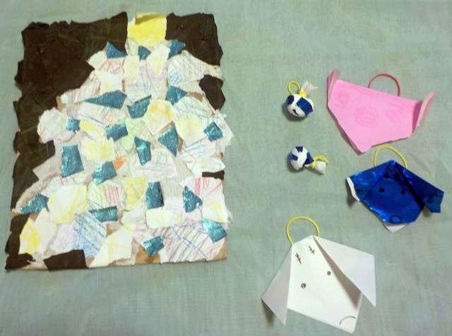 ,折り紙,クリスマス,飾り