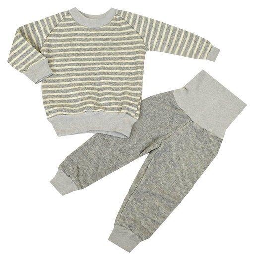 腹巻付き ボーダー柄 長袖 パジャマ ,寝冷え,対策,子ども