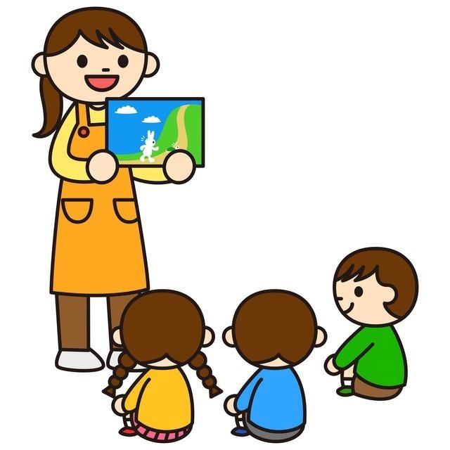 お話しを聞く子どもたち,幼稚園,入園,準備