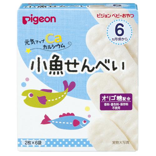 元気アップカルシウム小魚せんべい,ベビー,おやつ,お菓子