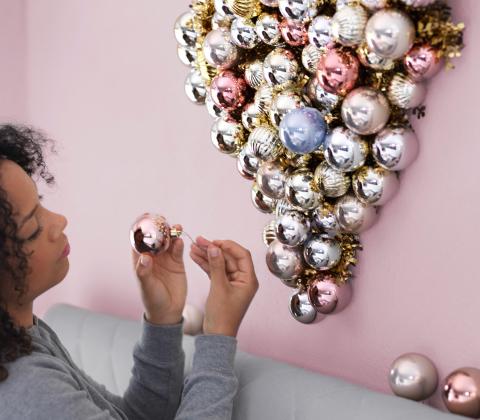 デコレーション ボールオーナメント,IKEA,クリスマス,インテリア