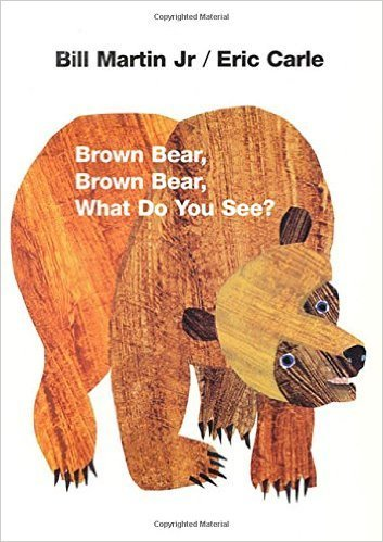 Brown Bear, Brown Bear, What Do You See?,読み聞かせ,英語,絵本