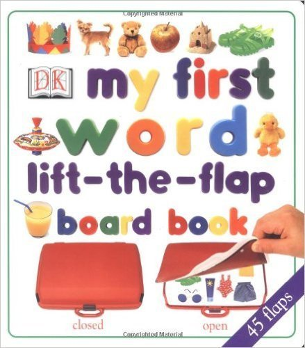 my first word lift-the-flap board book,読み聞かせ,英語,絵本