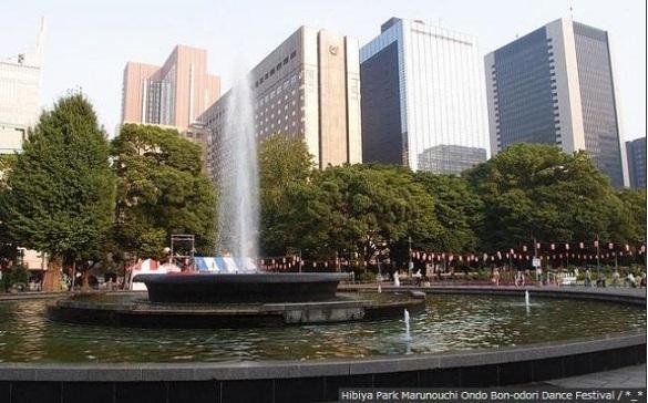 日比谷公園,東京,紅葉,名所