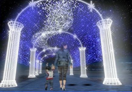 SAKU BLOOMイルミネーション,長野,クリスマス,イルミネーション
