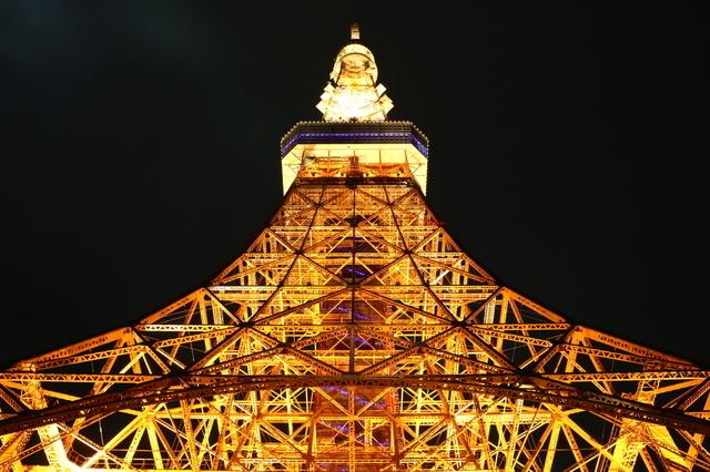 東京タワー,夜景,100選,東京