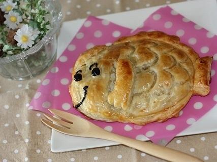 たいやきくん梨パイ,キャラ,スイーツ,レシピ