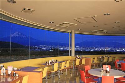 富士川SA(下り) │富士川町,夜景,スポット,静岡