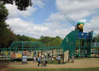 蜻蛉池公園,公園,アスレチック,大阪