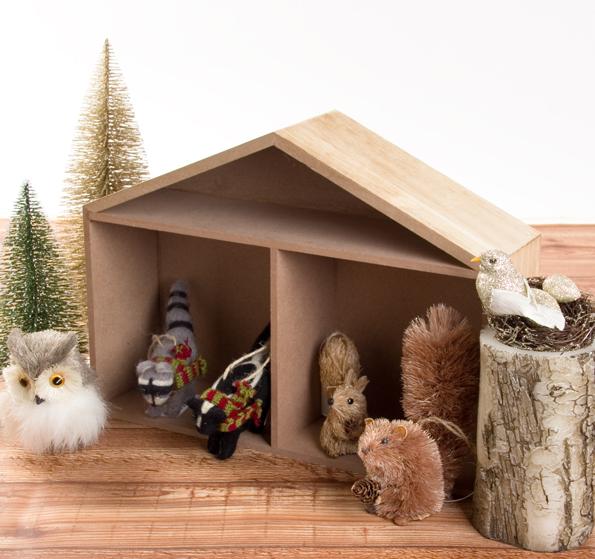 ディスプレイボックス(ハウス),クリスマス,インテリア,ニトリ