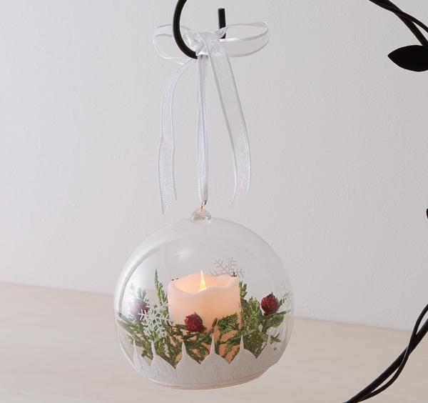 LEDクリアボール,クリスマス,インテリア,ニトリ