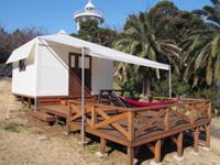 テントヴィラ,グランピング,初島,キャンプ