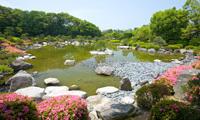 大濠公園 日本庭園,福岡,ハイキング,登山