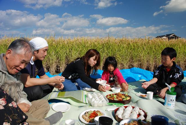 家族で食事,育児,田舎,メリット