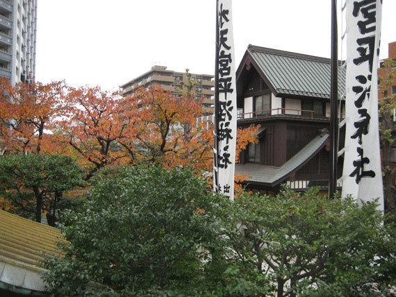 水天宮平沼神社,七五三,お参り,神社