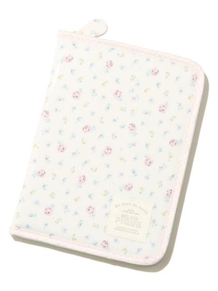 gelato pique コーティングリトルフラワー母子手帳ケース,人気,母子手帳,ケース