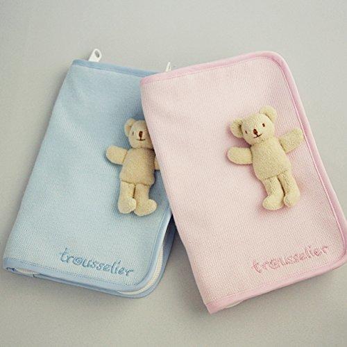 trousselier(トラセリア)母子手帳ケース Sサイズ ベア付,人気,母子手帳,ケース