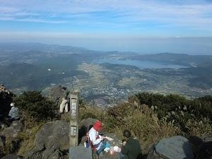 開聞岳,鹿児島,登山,ハイキング