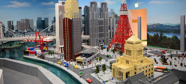 レゴランドのミニランド,子ども,おでかけ,東京