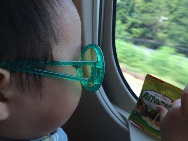子ども 新幹線内,京都,子連れ,新幹線