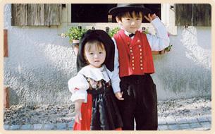 リトルワールドの民族衣装,愛知,リトルワールド,旅行体験