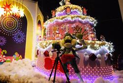 志摩スペイン村,クリスマス,イルミネーション,三重