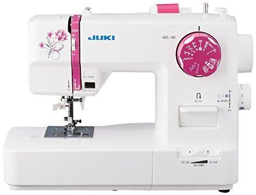 JUKI 電子ミシン 取扱説明DVD付き HZL-40,ミシン,初心者,