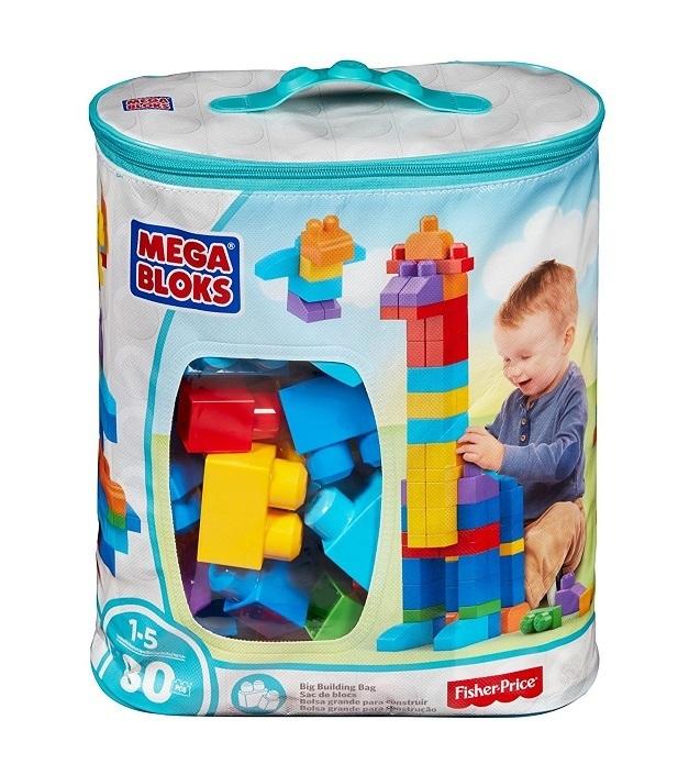 フィッシャープライス (Fisher Price) 1才からのメガブロック 80個バック DCH63,おもちゃ,ブロック,