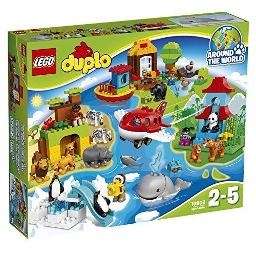 """レゴ (LEGO) デュプロ 世界のどうぶつ""""世界一周セット,おもちゃ,ブロック,"""